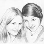 Bleistiftportrait 08, Zeichnung