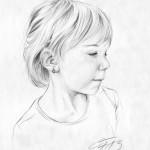 Bleistiftportrait 07 Zeichnung