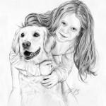 Bleistiftportrait 09 Zeichnung