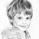 Portraitzeichnung Kohle 01