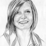 Portraitzeichnung Kohle 03