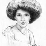 Portraitzeichnung Kohle 08